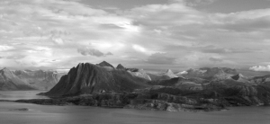 Mountains Viewed From Rødøy