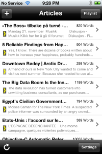Saved Articles From the Web
