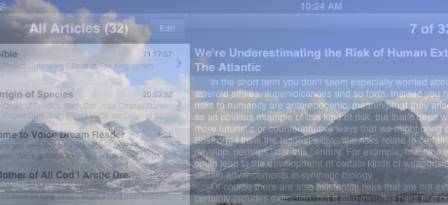 The Story of My Text-to-Speech App | Arctic Dream